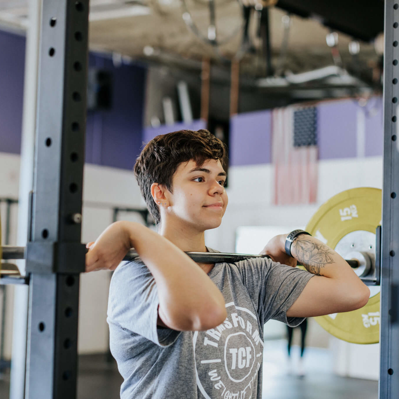 Isabel weight lifting